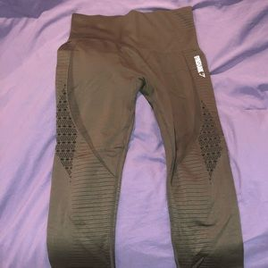 Olive Gymshark leggings
